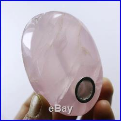 1000PC Natural Rose Quartz Crystal Smoking Pipes reiki healing