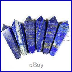 1000Pcs Natural Lapis Lazuli Gem Crystal Wand Smoking Pipes reiki healing