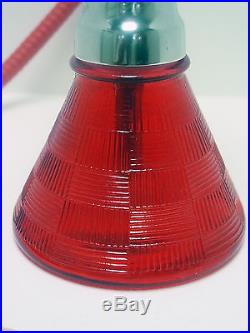 11 RED Modern Petite Hookah Smoking Pipe Nargila Mya Style 1 Hose 005