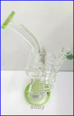 13 Inch Bong Lookah Glass Bong With Inline Perc Water Pipe tobacco pipe