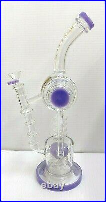 14 Inch Lookah Glass Bong Water Pipe tobacco pipe