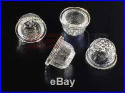 3X REPLACEMENT GLASS BOWL Silicone Pipe Glass Bowl Smoking