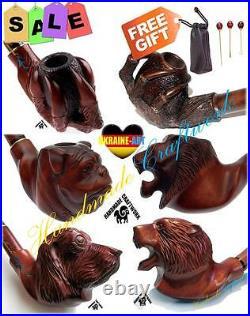 #3 Set Exklusiv Tabak Pfeifen Pfeife Tobacco Smoking Pipe/Pipes Pipa + Geschenk