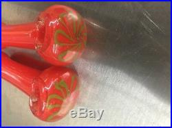 4.5 GLASS PIPE TOBACCO HERB TWO (2) FOR $11 Smoking Pipe bowl Glass hand pipes