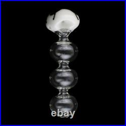 7 Jack Glowing Typhoon TOBACCO Pipe (AMERICAN MADE Glass Hand Pipes)