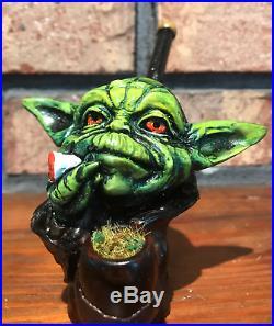 7 Smoking Pipes Halloween Star War Party Yoda Darth Vader Stormtrooper Kylo Jar