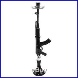 95cm Large Black AK-47 Mod Hookah -Mob Shisha Gun AK47 Smoking Pipe