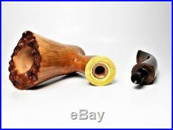 A39 Mastro Cascia pipes POKER Stand up Smoking pipes Briar wood Hand Mad ITALY