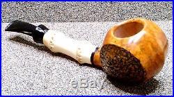 ANDREY CHEREPANOV Unsmoked Smoking Estate Pipe / Pfeife