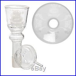 Al fakher Glass 1 Hose Smoking Pipe Animal Hookah Shisha Nargila With Briefcase