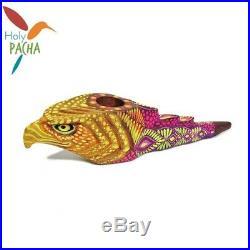 Amazonian Mapacho Tobacco Pipe Ayahuasca Inspired Eagle 10