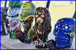 Assorted Wholesale Lot Handmade Tobacco Smoking Hand Pipes 12 for $120