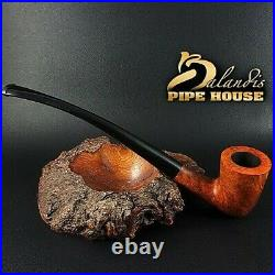 BALANDIS HAND MADE BRIAR wood TOBACCO smoking pipe YOUNG BILBO CHURCHWARDEN