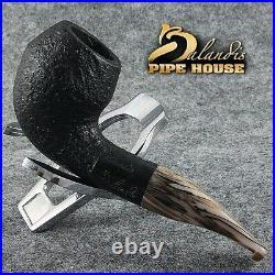 BALANDIS original Handmade tobacco smoking pipe MARCAN BLACKER Briar wood
