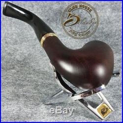 Balandis EXCLUSIVE HAND MADE & SMOOTH BRIAR wood smoking pipe BENT SAUL Rudas