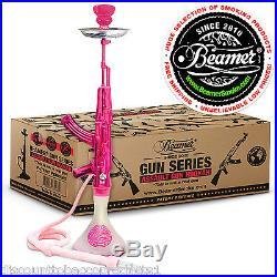 Beamer AK Gun Hookah Shisha Nargila Smoking Pipe Set Flavors Tobacco Charcoal US