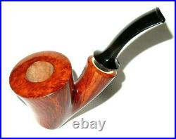 Bill Walther Unsmoked Standing Ballerina Pipe With Superior Grain Pipestud