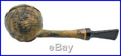 Bluebird Contrast Sandblast Rhodesian Tobacco Pipe