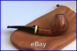 Bondarev Bent Egg Handmade Smoking Pipe