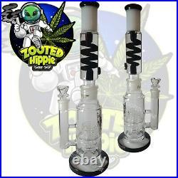 Bong 15 Phoenix Freezable Glycerin Coil Tobacco Pipe Hookah Glass Bong Freeze
