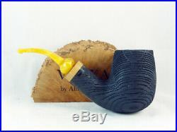 Brand new bog oak pipe VOLKAN Morta by Alberto Paronelli Tobacco Pipe pfeife