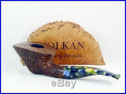Brand new briar pipe VOLKAN Aurum Tobacco Pipe pfeife handmade italy pfeife