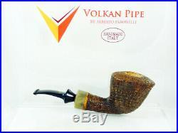 Brand new briar pipe VOLKAN Aurum Tobacco Pipe pfeife handmade pipa