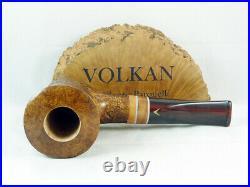Brand new briar pipe VOLKAN B grade Tobacco Pipe Volkan by Alberto Paronelli