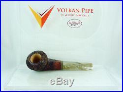 Brand new briar pipe VOLKAN Calypso bullcap Tobacco Pipe pfeife pipa