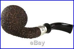 Brebbia First Calabash Plum Tobacco Pipe Rustic