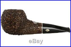 Brebbia PIPA 70 Rocciata Noce Tobacco Pipe Rustic