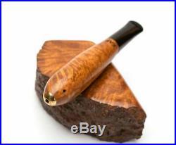 Briar Wood Cigar 9 mm Filter Tobacco Smoking Handmade KAFpipe