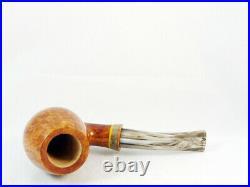 Briar pipe Stefano SANTAMBROGIO FX big Tobacco Pipe handmade 9mm filter pfeife