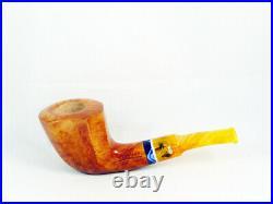 Briar pipe Stefano SANTAMBROGIO smooth FP Tobacco Pipe pipa 9mm filter pfeife
