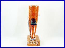 Briar pipe VOLKAN A grade Tobacco Pipe Alberto Paronelli pfeife pipa handmade