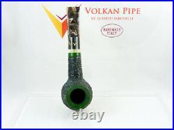 Briar pipe VOLKAN Antiqua rustic apple billiard Tobacco Pipe pipa pfeife