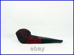 Briar pipe VOLKAN Antiqua rustic bullcap Tobacco Pipe pipa 9mm filter pfeife