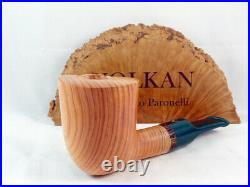 Briar pipe VOLKAN Ginepro juniper wood Tobacco Pipe pfeife pipa handmade