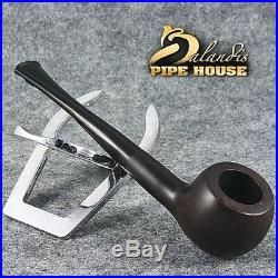 CLASSIC HAND MADE smooth BRIAR WOODEN TOBACCO smoking pipe REAL for beginner
