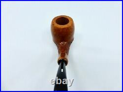 Castello Castello KK Bent Partial Rusticated Briar Tobacco Pipe NEW IN BAG