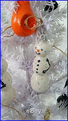 Christmas, ornament, Snowman, multi-purpose gift smoking pipe, non-toxic, bag