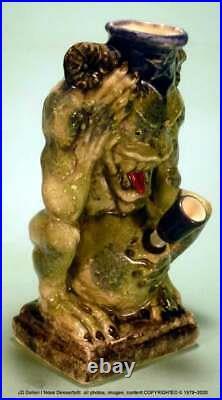Demon Monster Fantasy Gremlin Ceramic Rumph Water Hookah Tobacco Pipe #1826 USA