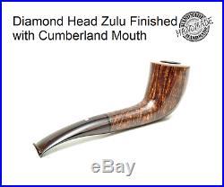 Diamond Head Zulu Carved Briar Smoking Pipe By Johnsson Osl (award Winning)