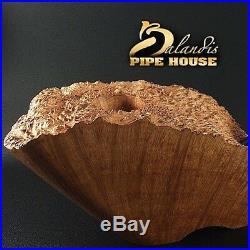 EXCLUSIVE BALANDIS ORIGINAL Briar Handmade SMOKING PIPE VARRAN HUDD PLATEAU