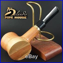 EXCLUSIVE BALANDIS ORIGINAL Handmade Pear wood SMOKING PIPE X POKER NATURA