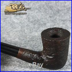 EXCLUSIVE HAND MADE SMOOTH BRIAR wood smoking pipe MT YOUNG BELLA Churchwarden