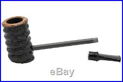Eltang Basic Black Rustic Tobacco Pipe