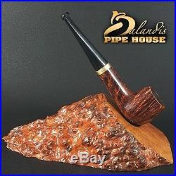Exclusive Balandis Original Briar Handmade Mini Smoking Pipe Huana Brunn