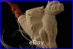 GARGOYLE Meerschaum Smoking Pipe by I BAGLAN 2605 +CSE