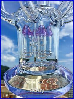 Glass bongs 17 big hookah pipe ash catcher smoking shisha water pipes 18.8mm